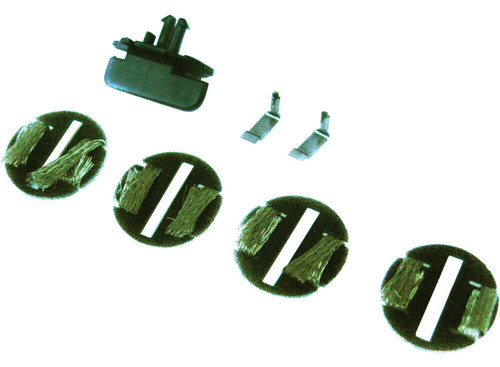 C8312 Scalextric Easy Fit Guide Blade 4-Pack 1:32 Slot Car Part