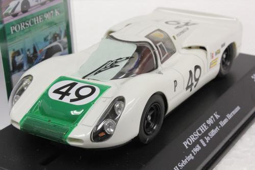 00203 SRC Porsche 907K 12H Sebring 1968 Jo Siffert/Hans Hermann 1:32 Slot Car