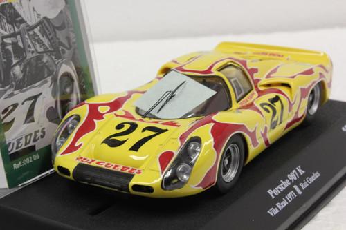 00206 SRC Porsche 907K Vila Real 1971 Psychedelic, #27 1:32 Slot Car