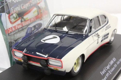 00303 SRC Ford Capri 2600 RS 24H Paul Ricard 1971 Graham Hill/John Surtees 1:32 Slot Car