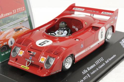 00801 SRC Alfa Romeo 33T12 Targa Florio 1973 1:32 Slot Car