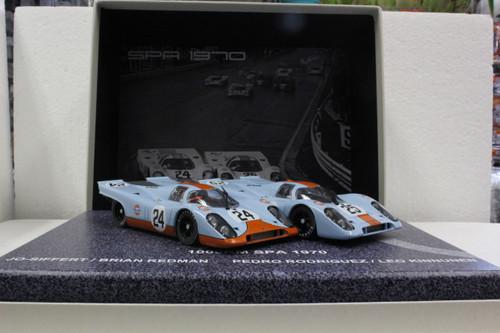 RW005.02 Fly Porsche 917K 1000km Spa 1970 Platinum Collection Twin Pack 1:32 Slot Car