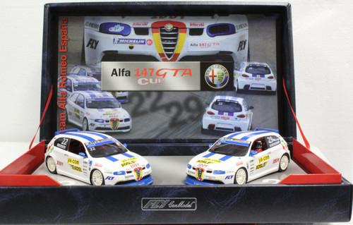 TEAM08/96042 Fly Alfa 147 GTA Cup Team Alfa Romeo Espana Twin-Pack 1:32 Slot Car
