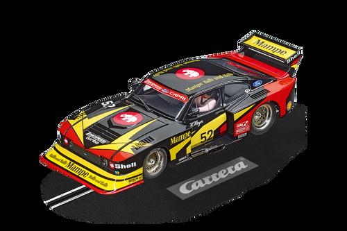 23895 Carrera Digital 124 Ford Capri Zakspeed Turbo Mampe, #52 1:24 Slot Car
