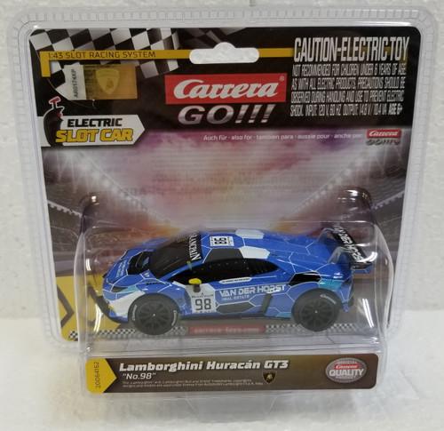 64162 Carrera GO!!! Lamborghini Huracán GT3, #98 1:43 Slot Car