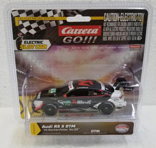 64173 Carrera GO!!! Audi RS 5 DTM M. Rockenfeller, #99 1:43 Slot Car