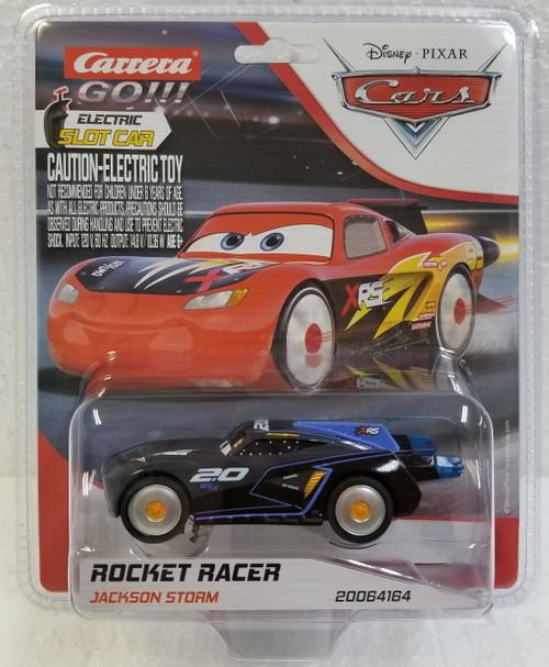 64164 Carrera GO!!! Disney Pixar Cars Jackson Storm Rocket Racer, #20 1:43 Slot Car