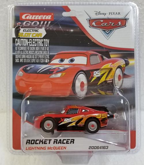 64163 Carrera GO!!! Disney Cars Lightning McQueen Rocket Racer, #95 143 Slot Car