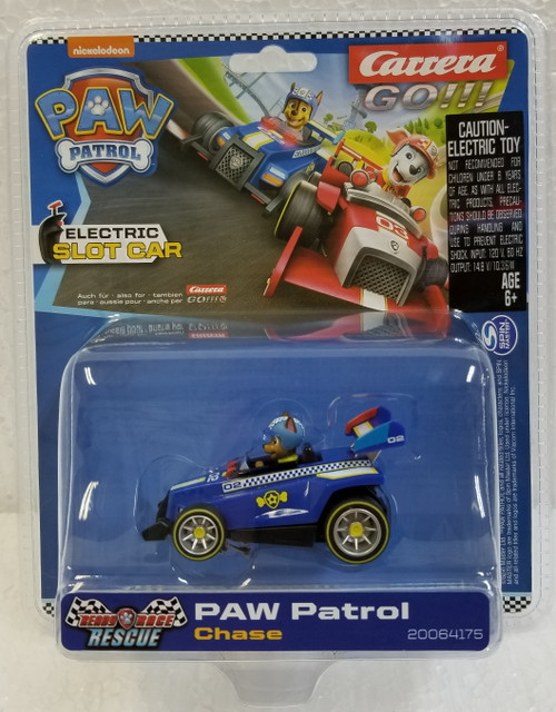 64175 Carrera GO!!! PAW Patrol - Ready Race Rescue - Chase 1:43 Slot Car