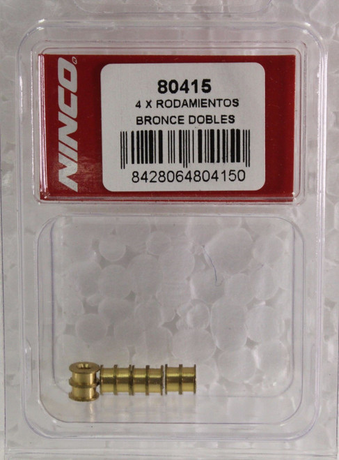 80415 Ninco Double Bronze Bushing Bearings For Proslot/4WD 1:32 Slot Car Part