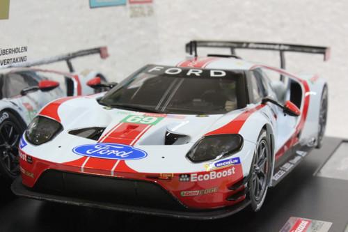 23892 Carrera Digital 124 Ford GT Race Car w/lights, #69 1:24 Slot Car