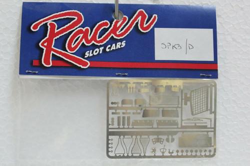 RCRSPK3/D Racer Metal Etched Parts For Porsche 935K3 1:32 Slot Car Par