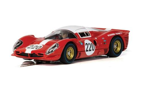 C4163 Scalextric Ferrari 412P Targa Florio 1967, #220 1:32 Slot Car