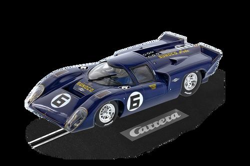 23898 Carrera Digital 124 Lola T70 MKIIIb, #6 1:24 Slot Car w/lights