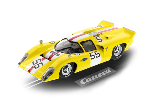 23897 Carrera Digital 124 Lola T70 MKIIIb, #55 1:24 Slot Car w/lights
