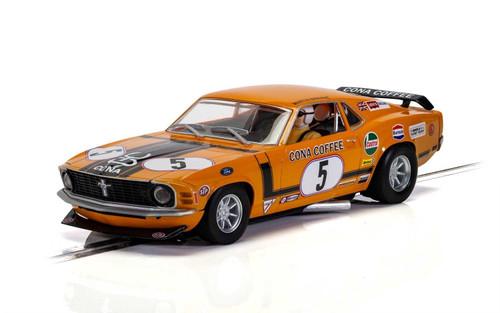 C4176 Scalextric Ford Mustang Boss 302 - Martin Birrane, #5 1:32 Slot Car *DPR*