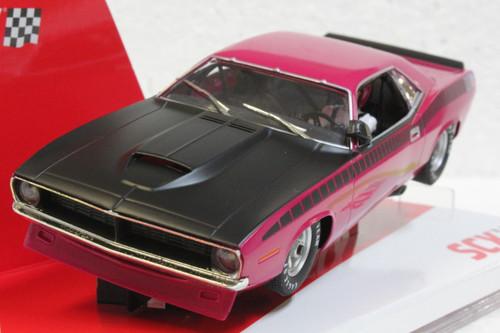 U10365X300-PI SCX Plymouth Trans Am AAR CUDA Panther Pink 1970 Limited Edition 1:32 Slot Car