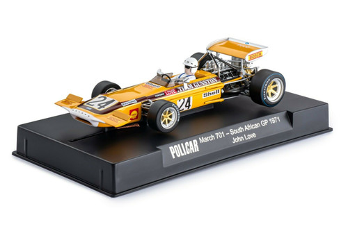 CAR04E Policar March 701 South African GP 1971, #24 1:32 Slot Car