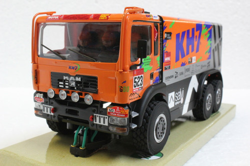 50411 Avant Slot MAN Truck 6x6 Wheel Drive KH-7 Racing Team Dakar 2019 #523 1:32 Slot Car