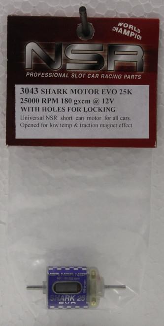 3043 NSR Shark Motor 25,000 RPM 180g/cm Torque 1:32 Slot Car Part