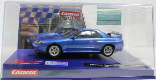 31003 Carrera Digital 132 Nissan Skyline GT-R R32 Blue - Japanese Edition 1:32 Slot Car
