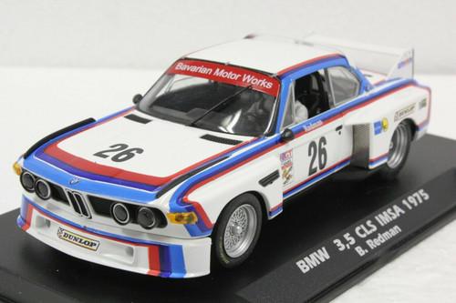 A2002 Fly BMW 3.5 CSL IMSA 1975 Brian Redman, #26 1:32 Slot Car