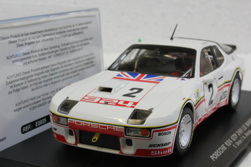 E2025A Fly Porsche 924 GTP 24H Le Mans 1980, #2 1:32 Slot Car