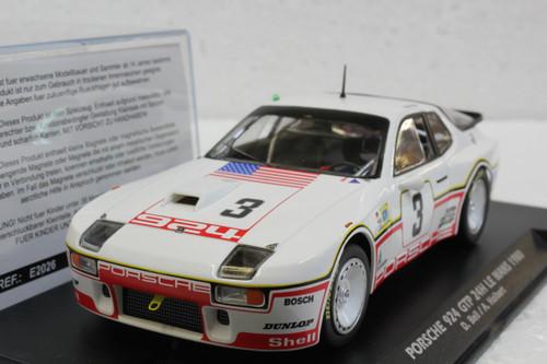 E2026A Fly Porsche 924 GTP 24H Le Mans 1980, #3 1:32 Slot Car
