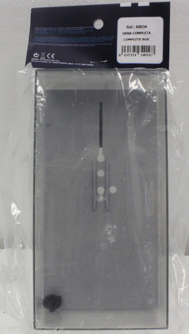 B1/80034 Fly Clear Display Case - Lid, Base, Fly Card and Mounting Screw 1:32 Slot Car Part