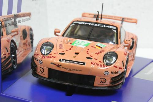30964 Carrera Digital 132 Porsche 911 RSR Pink Pig Design, #92 1:32 Slot Car