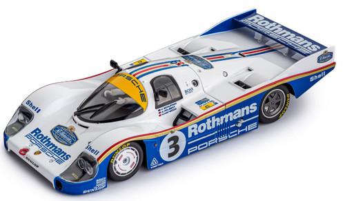 SICW24 Slot.it Porsche 956C LH Le Mans Winner 1983 Rothmans, #3 1:32 Slot Car