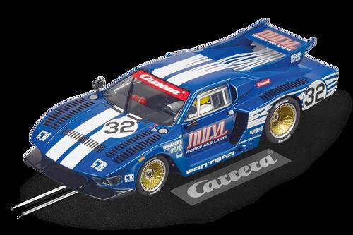 27671 Carrera Evolution De Tomaso Pantera, #32 1:32 Slot Car