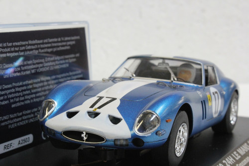 A2503 Fly Ferrari 250 GTO Le Mans 1962 - 25th Anniversary Collection, #17 1:32 Slot Car