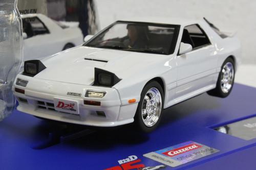 31008 Carrera Digital 132 Mazda RX-7 FC3S White - Japanese Edition 1:32 Slot Car