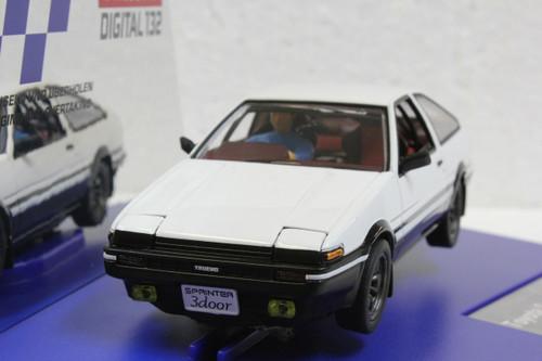 31001 Carrera Digital 132 Toyota Trueno (Corolla) Sprinter AE86 Japanese Edition 1:32 Slot Car