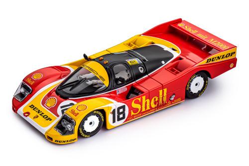 SICA03M Slot It Porsche 962C Le Mans 1988 Shell, #18 1:32 Slot Car