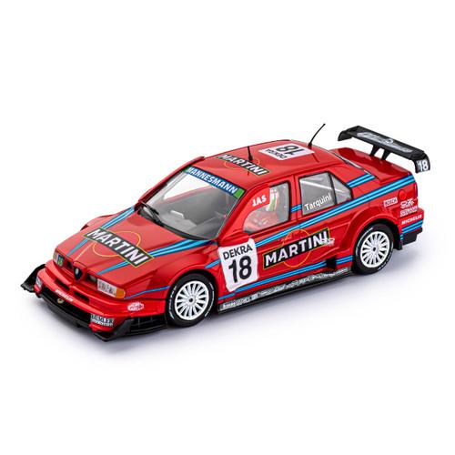 SICA45B Slot It Alfa Romeo 155 V6 TI - ITC Mugello 1996 Martini, #18 1:32 Slot Car