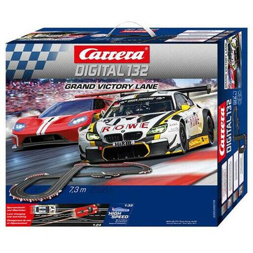 30019 Carrera Digital 132 Grand Victory Lane 1:32 Slot Car Racing Set