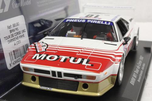 A1303 Fly BMW M1 Tour de Corse 1982 Bernard Darniche/Alain Mahe 1:32 Slot Car