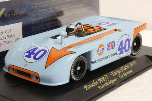C67 Fly Porsche 908/3 Targa Florio 1970 Pedro Rodriguez/Leo Kinnunen 1:32 Slot Car