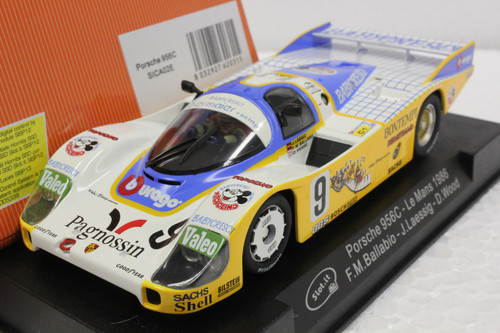 SICA02E Slot.it Porsche 956C Le Mans 1986 #9, 1:32 Slot Car