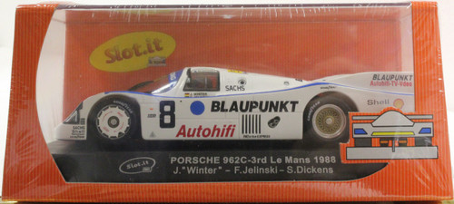 SICA03A Slot.it Porsche 962C 3rd Le Mans 1988 #8, 1:32 Slot Car