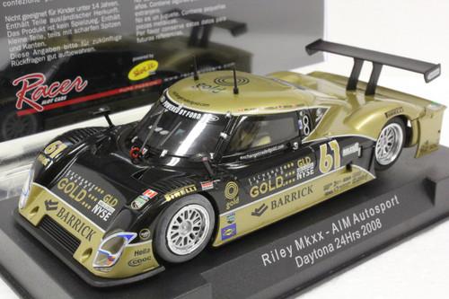 SW02 Racer Sideways Riley MkXX Daytona AIM Autosport Daytona 24hrs 2008, #61 1:32 Slot Car