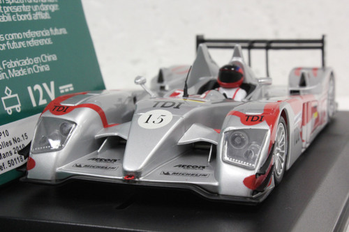 50118 Avant Slot Audi R10 LeMans 2010 TDI #15, Team Kolles C.Bakkerud/O.Jarvis/C.Bouchut 1:32 Slot Car