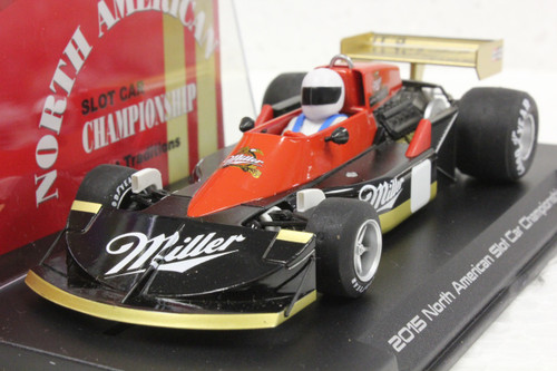 W45-2SP Fly March 761 2015 North American Slot Car Championship Black/Red Miller 1:32 Slot Car