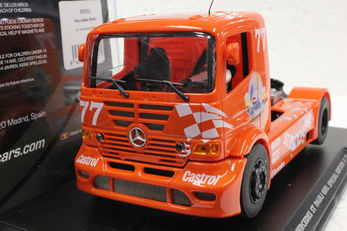202311 Fly Mercedes Benz Truck St Pauli Girl Special Edition #77, 1:32 Slot Car