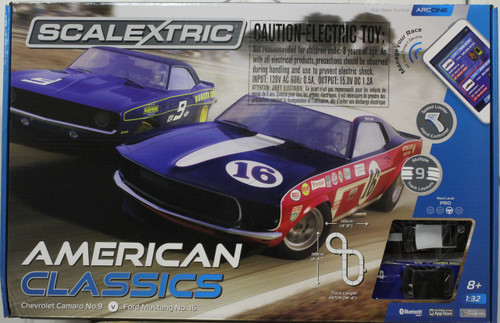 C1362T Scalextric ARC ONE American Classics Set 1:32 Slot Car