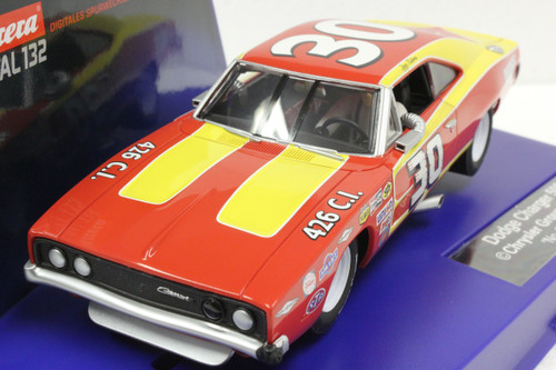 30604 Carrera Digital 132 Dodge Charger 500 1968 #30, 1:32 Slot Car