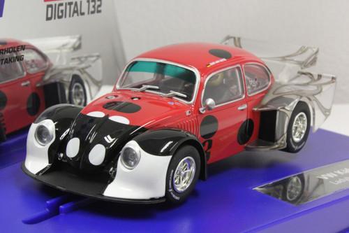 30821 Carrera Digital 132 VW Beetle Kafer Group 5 Lady Bug Racer 1:32 Slot Car