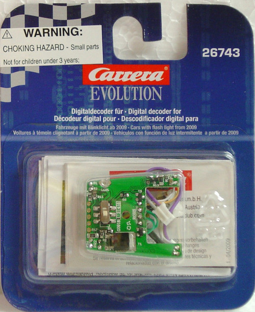 26743 Carrera Evolution 1/32 Digital Conversion Chip Emergency Lights for 1/32 Digital Slot Cars